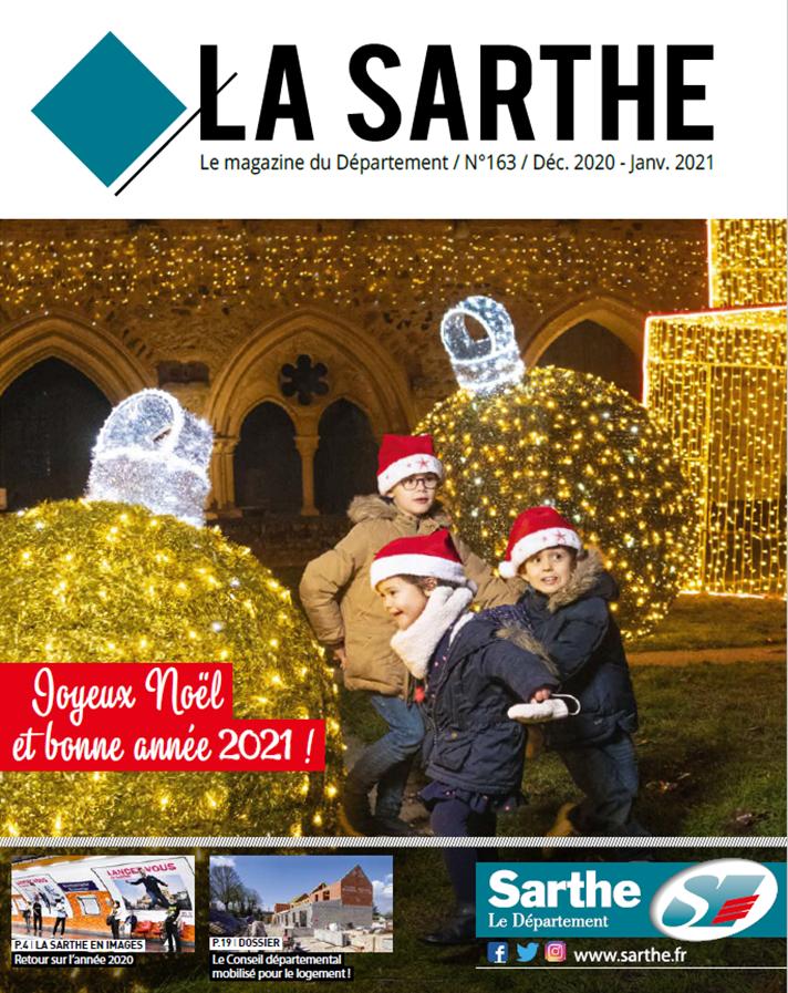 Le magazine de la Sarthe  - décembre/janvier 2021