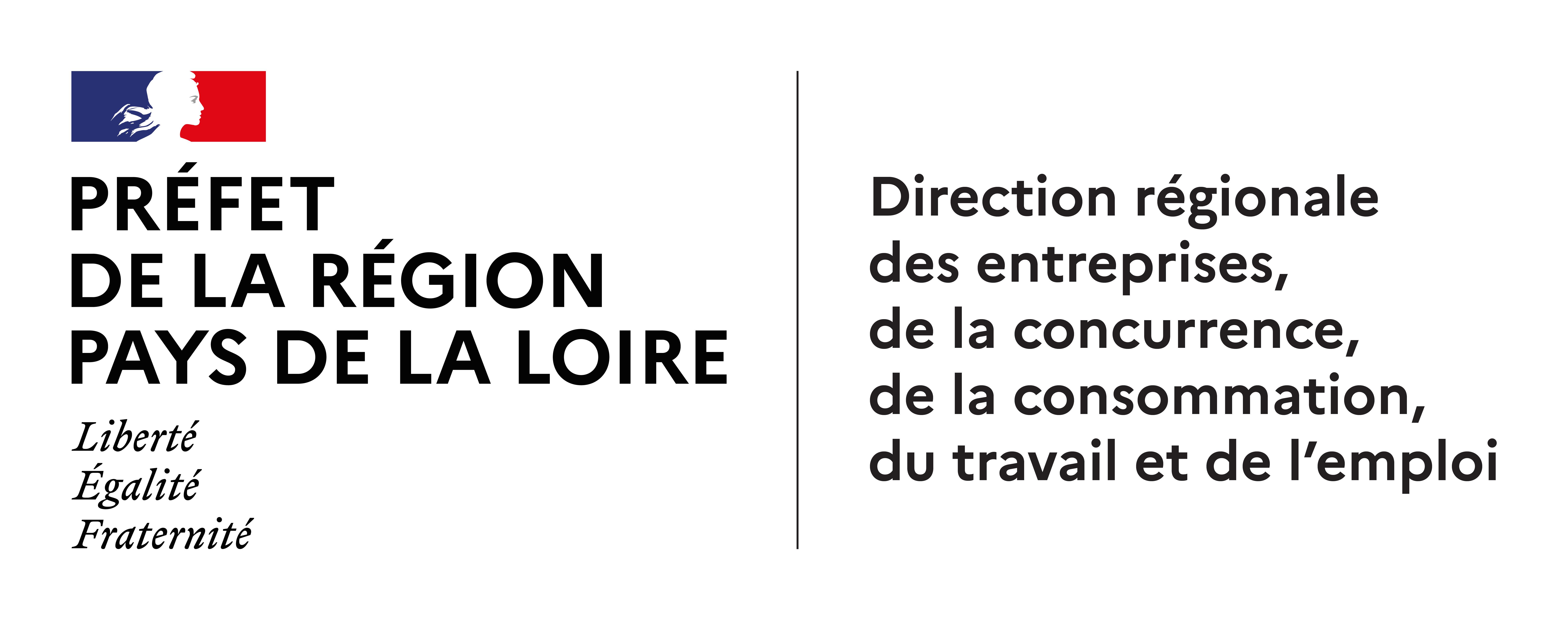 Logo de DIRECCTE-DREETS Pays de la Loire