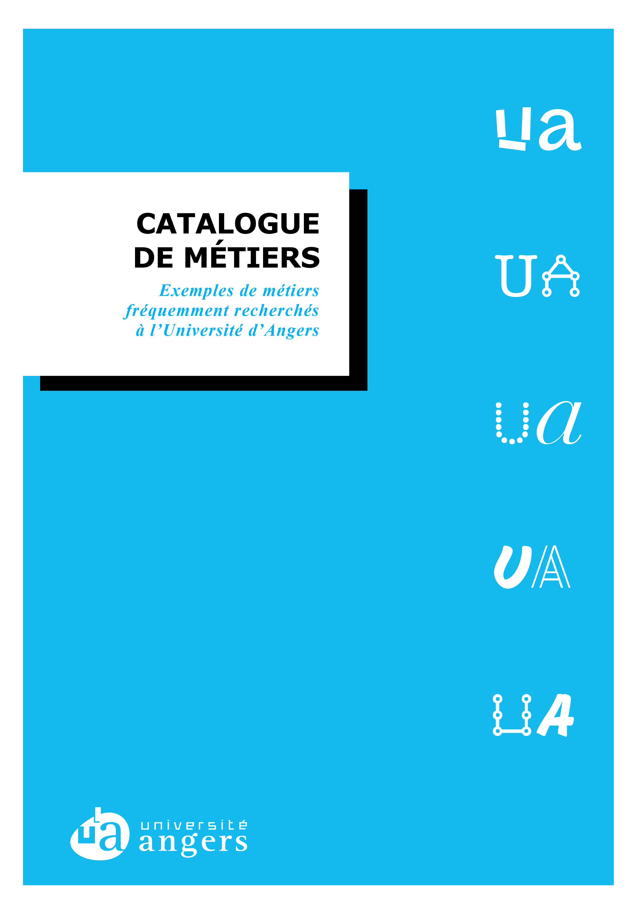 catalogue metiers UA