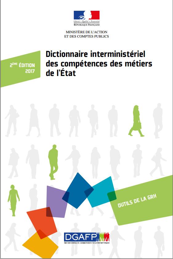 Dictionnaire interministériel des compétences des métiers de l'Etat