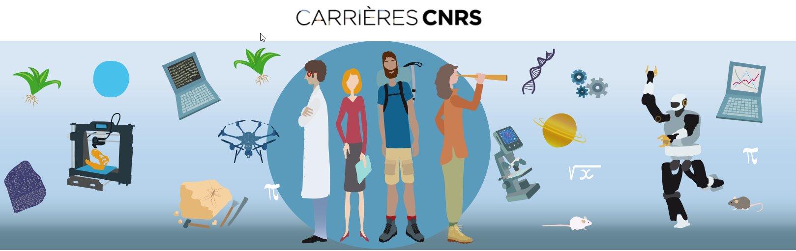 Carrières_métiers au CNRS