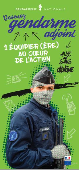 Plaquette gendarme adjoint