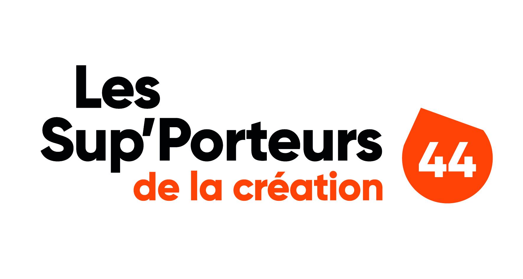 Logo de Sup'porteurs de la création 44  (www.lessupporteursdelacreation44.fr)