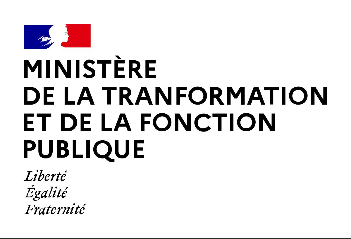 Logo de Ministère de la transformation et de la fonction publiques - DGAFP