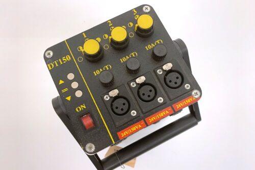 DedoLight 150W Set (6x Leuchte/2x Trafo DT150/2x Spotvorsatz) 2