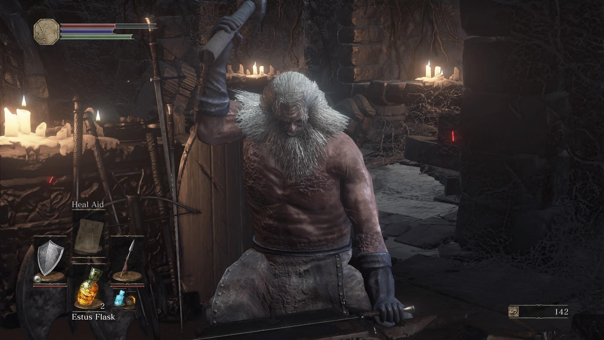 Andre the blacksmith