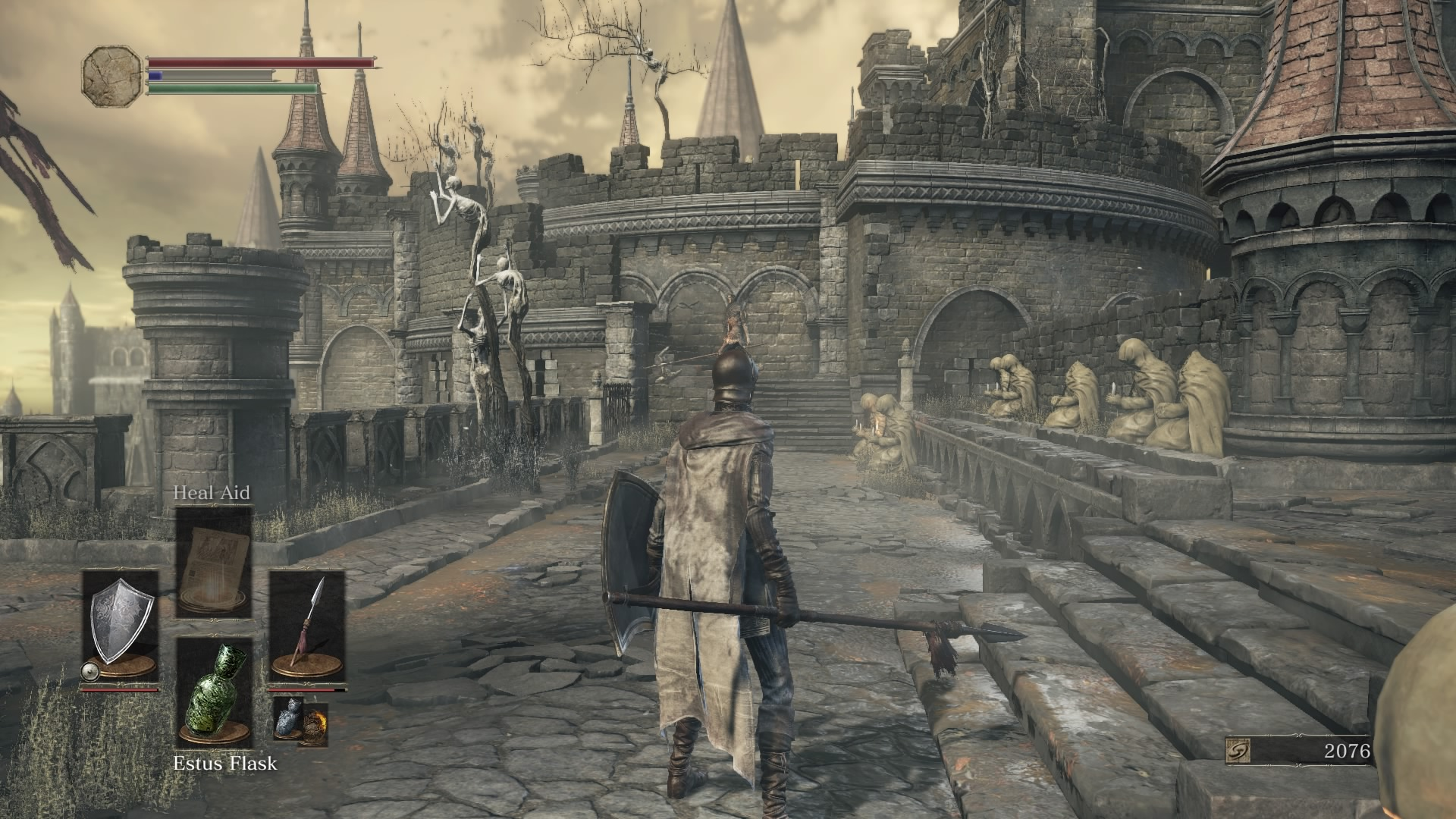 Fighting on the high walls of Lothric