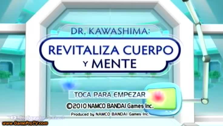 Dr. Kawashima revitaliza cuerpo y mente