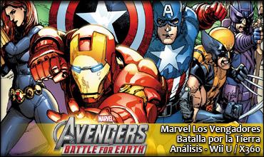 Marvel: Los Vengadores. Batalla por la Tierra