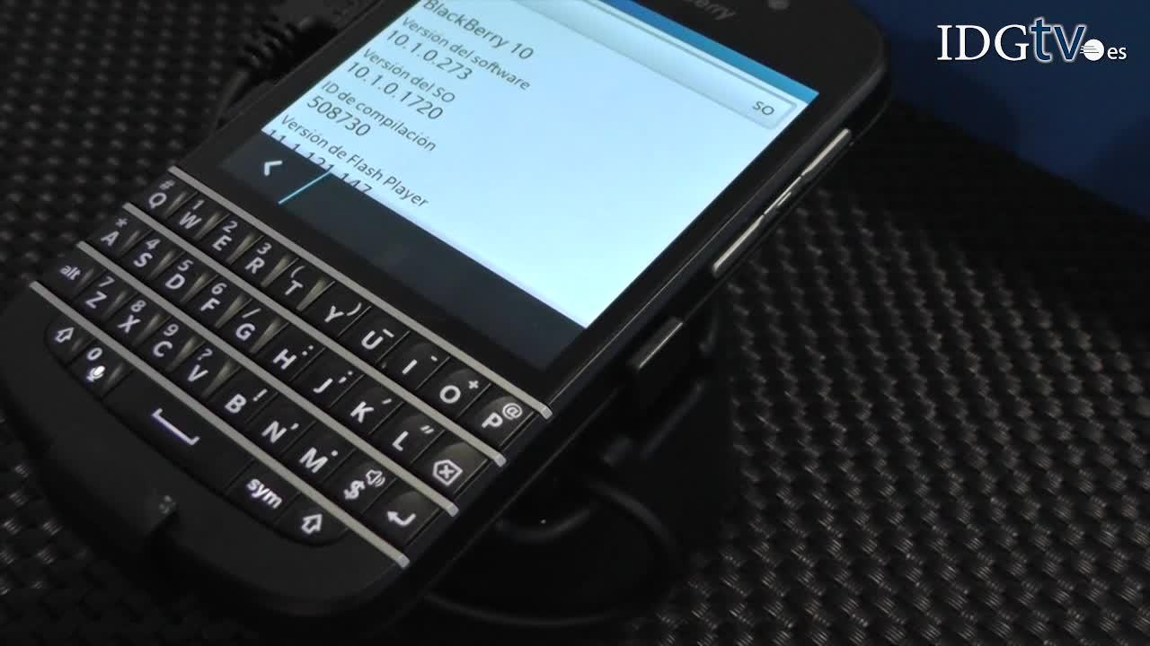 Blackberry Z10 y Q10 acompañan a BES10