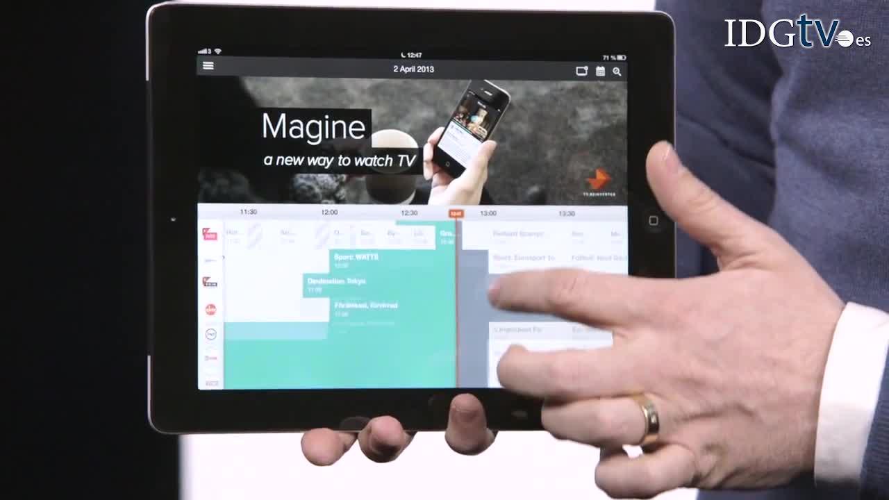 TV a la carta desde el iPad