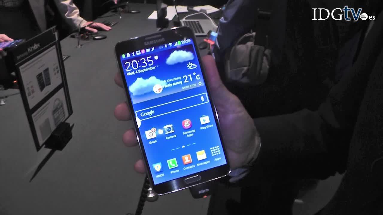 Samsung presenta las funcionalidades del nuevo Galaxy Note 3