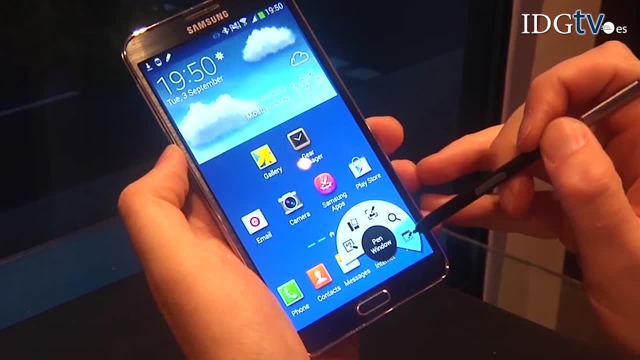 Galaxy Note 3: primeras impresiones