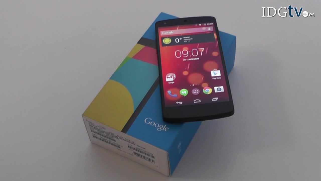 Google Nexus 5, análisis y autonomía