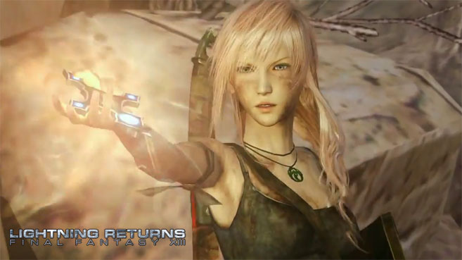 Lightning podrá vestirse como Lara Croft en Lightning Returns Final Fantasy XIII