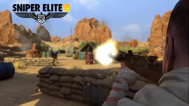 Sniper Elite 3 (vídeo de la Kill Cam)