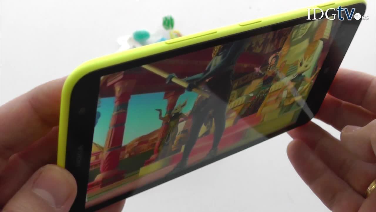 Analizamos el phablet Nokia Lumia 1320