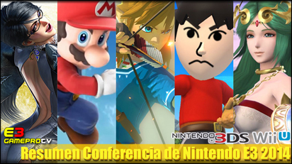 Resumen de la Conferencia de Nintendo en el E3 2014