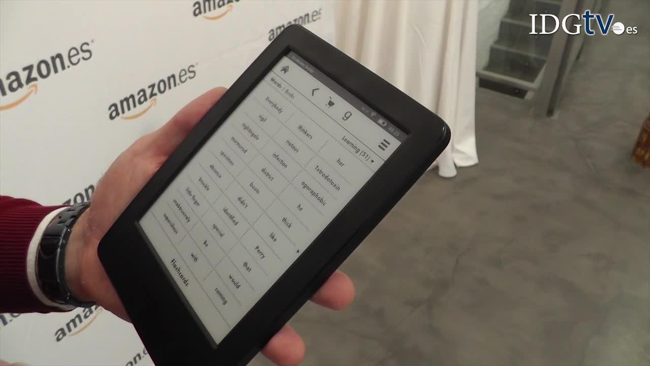 Nuevas funciones del Kindle e-reader de 79 euros