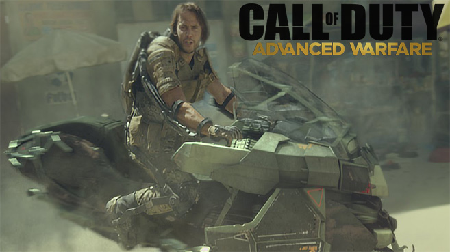 Nuevo tráiler live action de Call of Duty Advanced Warfare