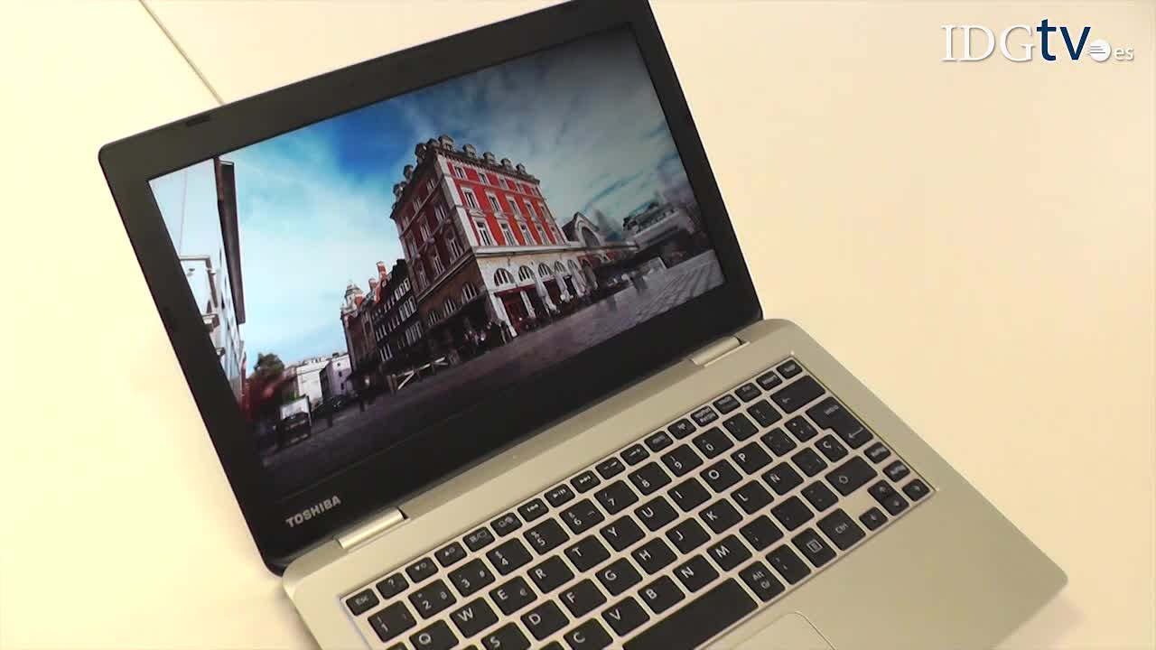 Video an�lisis Toshiba Satellite CL10