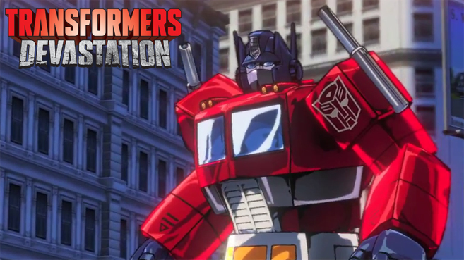 Tráiler gameplay de Transformers Devastation