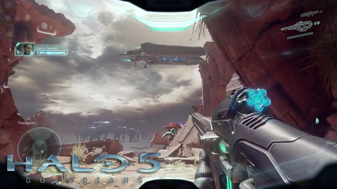 Nuevo vídeo gameplay de Halo 5 Guardians
