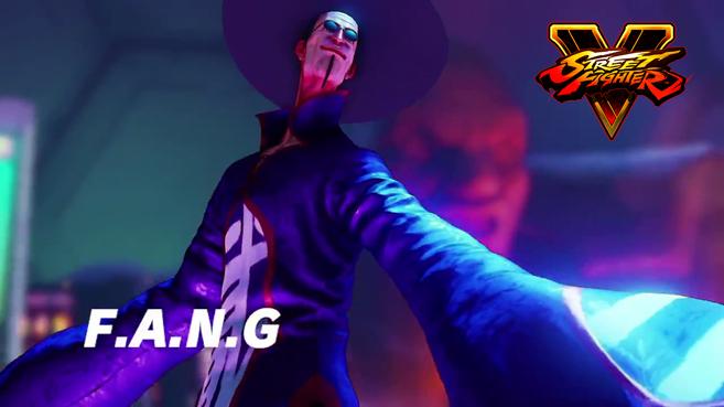 F.A.N.G. completa el listado de dieciséis luchadores iniciales de Street Fighter V