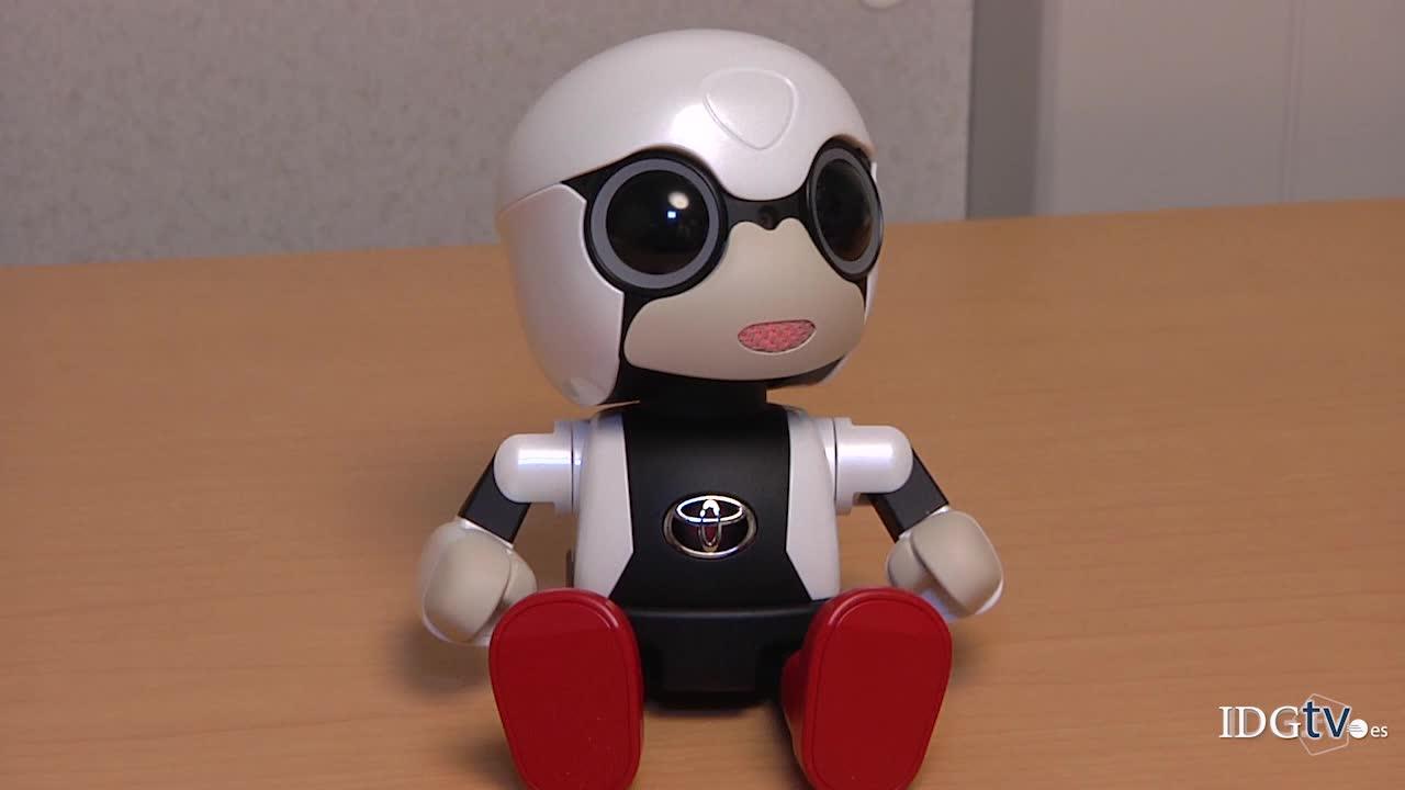 Kirobo Mini, el robot que quiere ser tu mejor copiloto