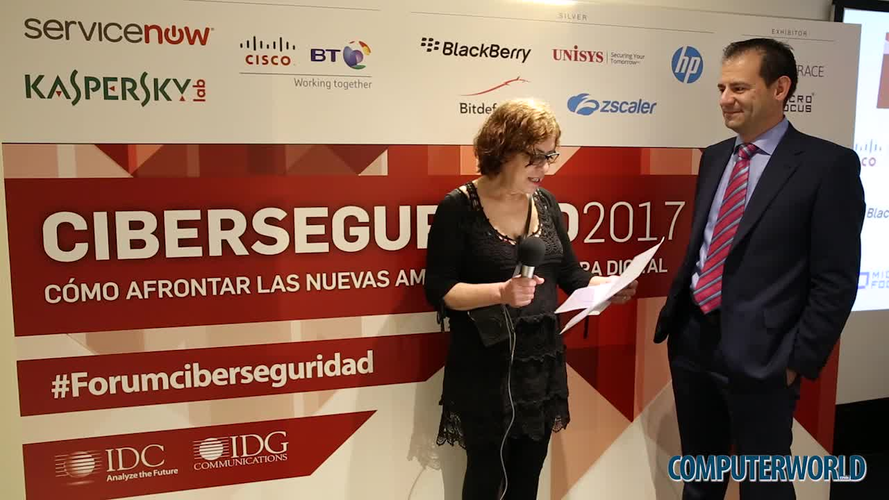 "David Fernández (BT y Cisco): ""Seguridad y digitalización van de la mano"""