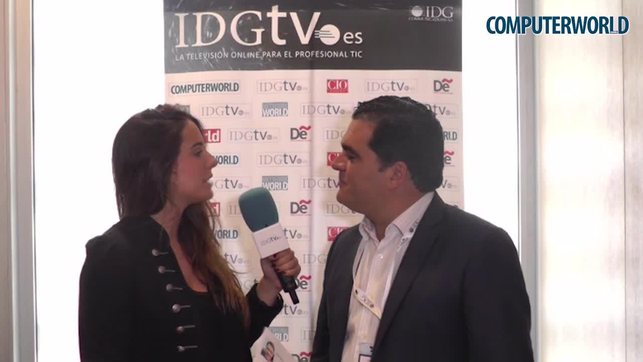 """Antonio Rodriguez: """"IBM quiere construir una plataforma donde poder incluir todos los datos dotándola de inteligencia"""""""