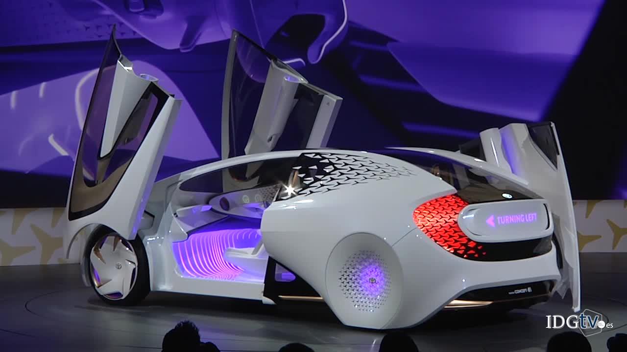 Toyota Concept-i adopta tecnologías de inteligencia artificial
