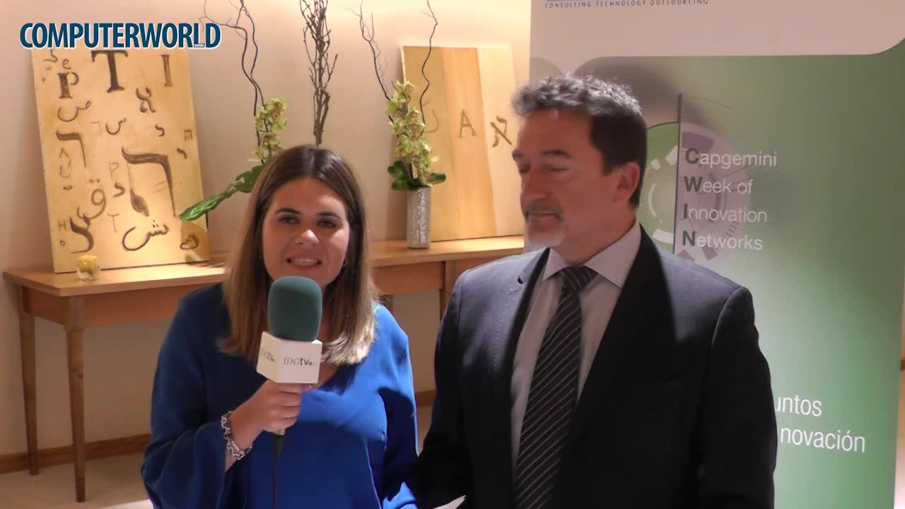 """Fernando Garcia (Capgemini): """"La innovación tecnológica es critica"""""""