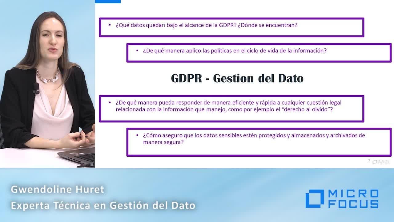 """Gwen Huret (MicroFocus): """"En España las empresas están muy por detrás a nivel europeo"""""""