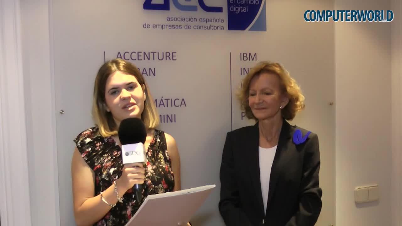 """Elena Salgado (AEC): """"Se espera que el sector de la consultoría crezca un 5,8% en 2018"""""""