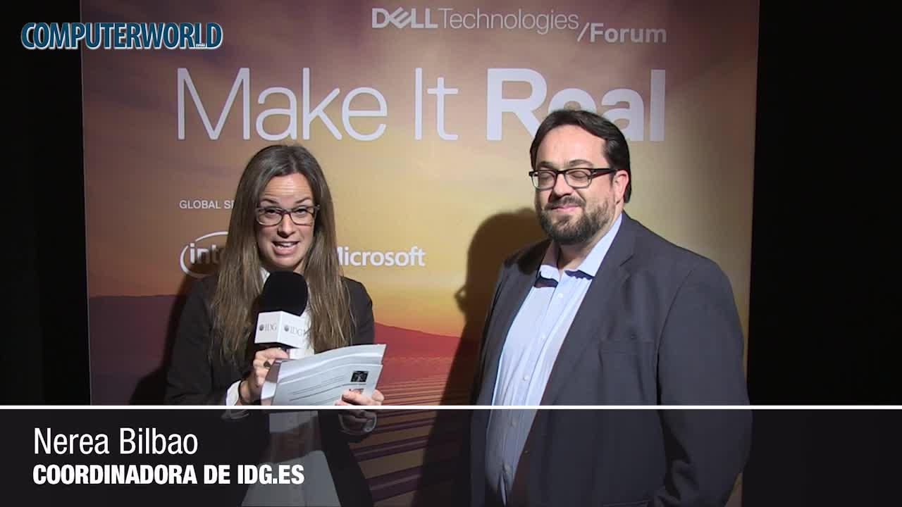 """Fernando Ochoa (Dell EMC): """"Queremos ayudar a nuestros clientes a que sean el motor de su transformación"""""""
