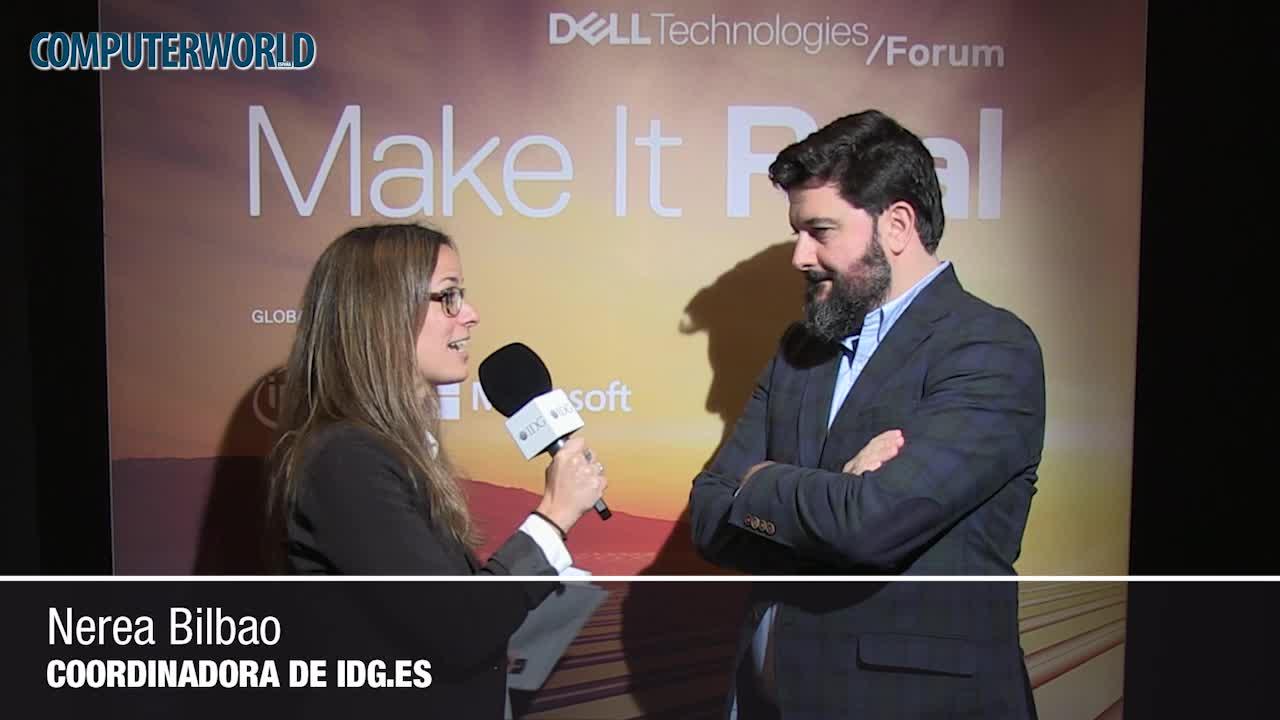 """Ignacio Arrieta (Dell EMC): """"Es importante una buena estrategia de analítica para apoyar las iniciativas de transformación digital"""""""