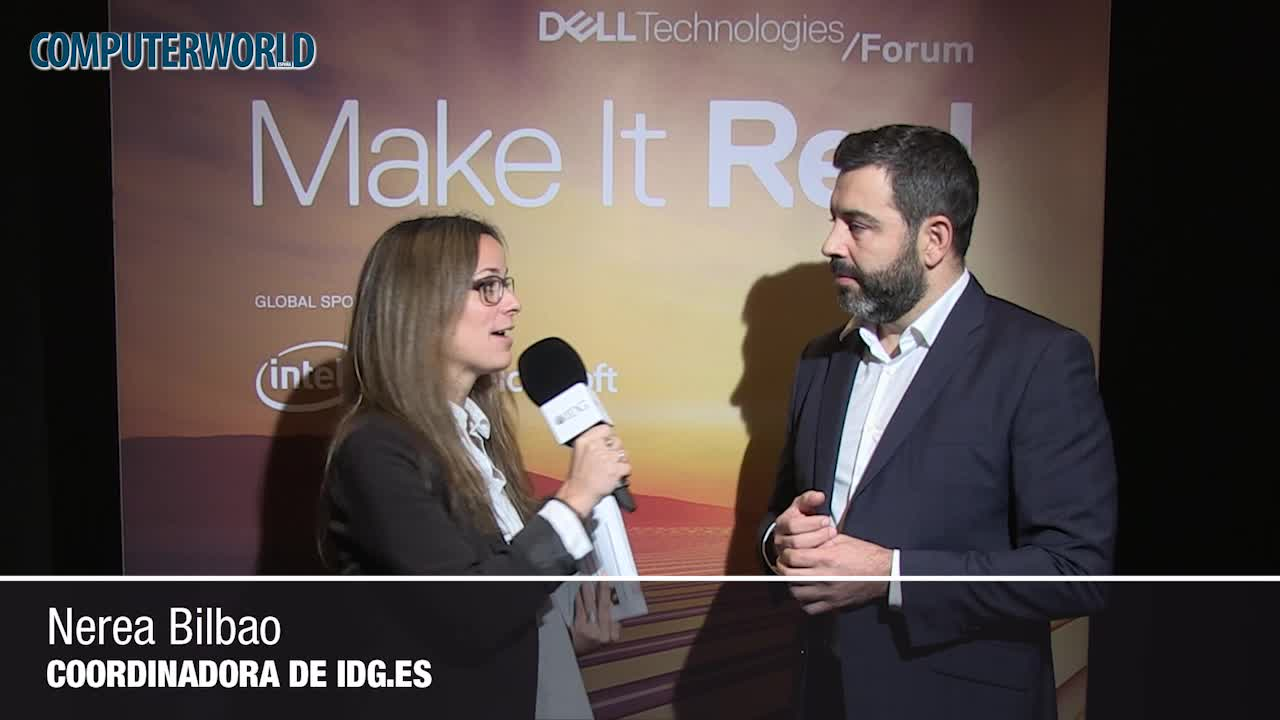 """Javier Gallego (Dell EMC): """"Para 2020 el 20% de los despliegues de infraestructura se van a dedicar a IA"""""""