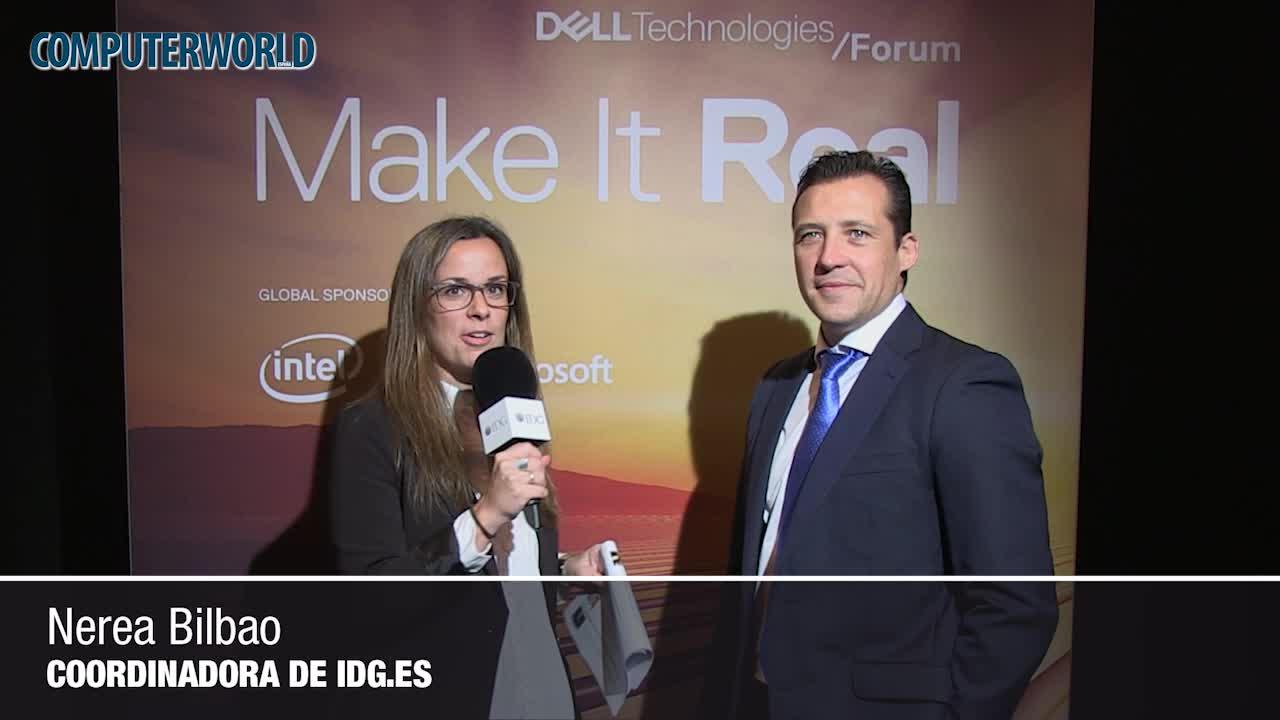 """Roberto Navarro (Dell EMC): """"La transformación del puesto de trabajo forma parte de nuestra estrategia digital"""""""