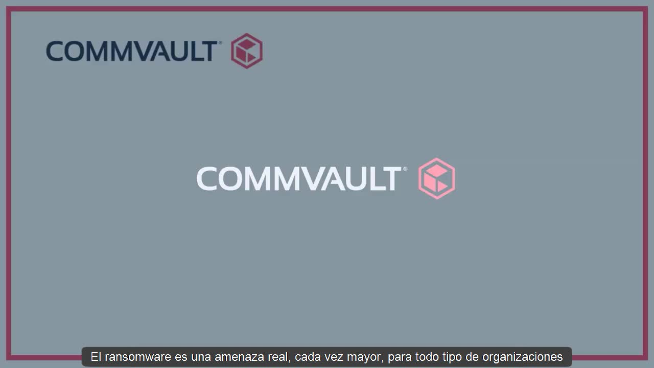 Proteger tu entorno de un ataque de ransomware con Commvault