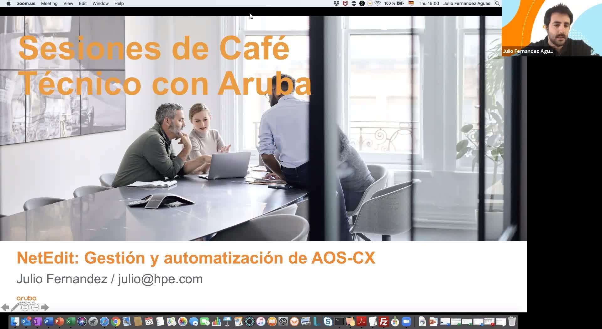 NetEdit: gestión y automatización de AOS-CX
