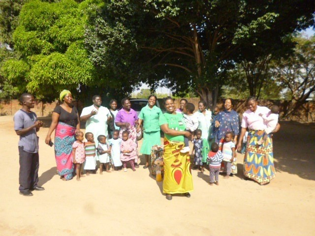 Singing Chikondi Farewell