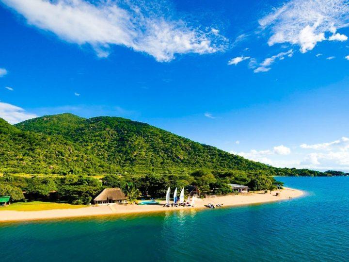 The beautiful lake malawi