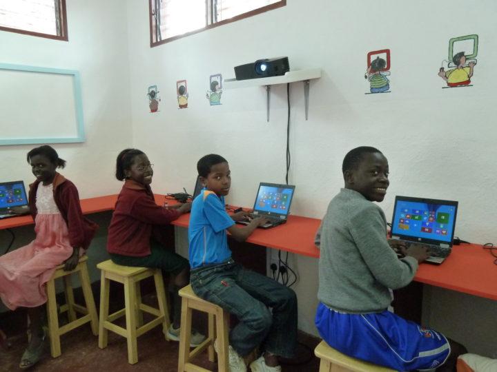 new computer classroom