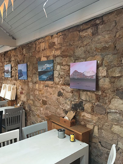Exhibition of Paintings by Clive Wilson