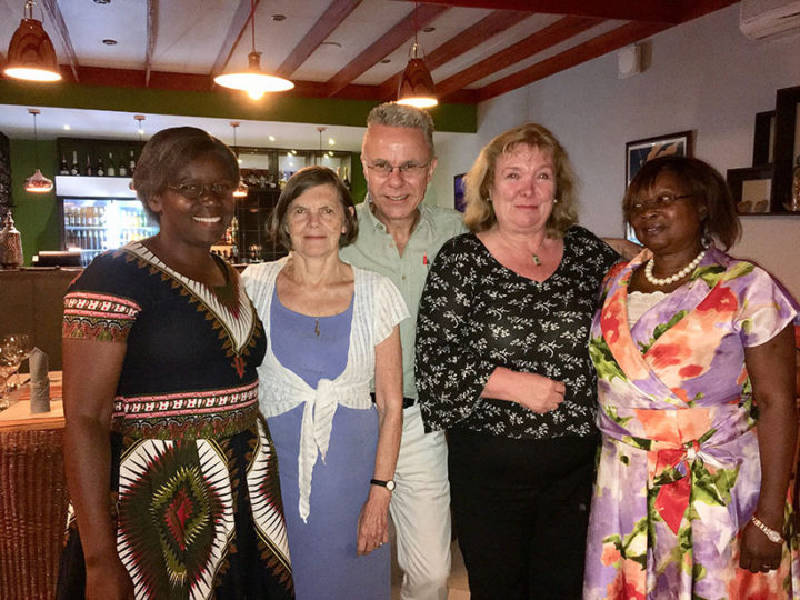 Dilys Taylor, our long serving Treasurer in Malawi