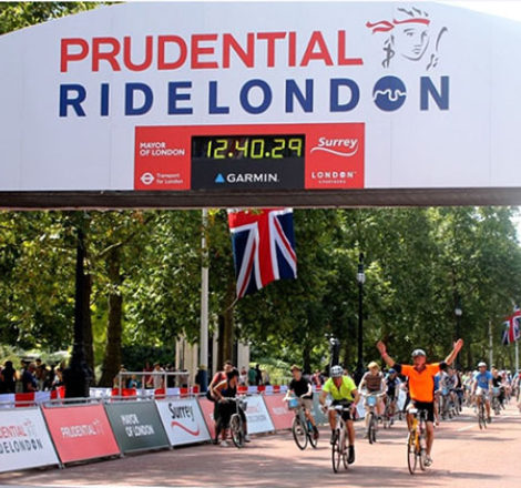Countdown to RideLondon 100