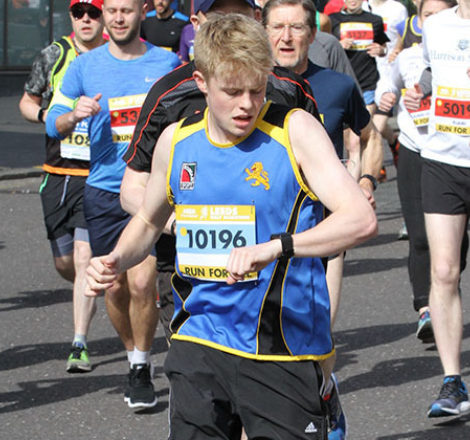 Billy Rudolph to Run London Marathon
