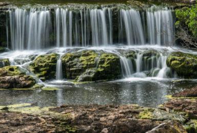 Aysgarth Falls and Hardraw Force