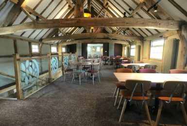 How about a 5-Star, Three-course Valentine's Meal for £30 at the Old Barnhouse?